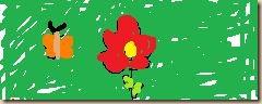 Blume-thumb in Lisa´s Tagebuch